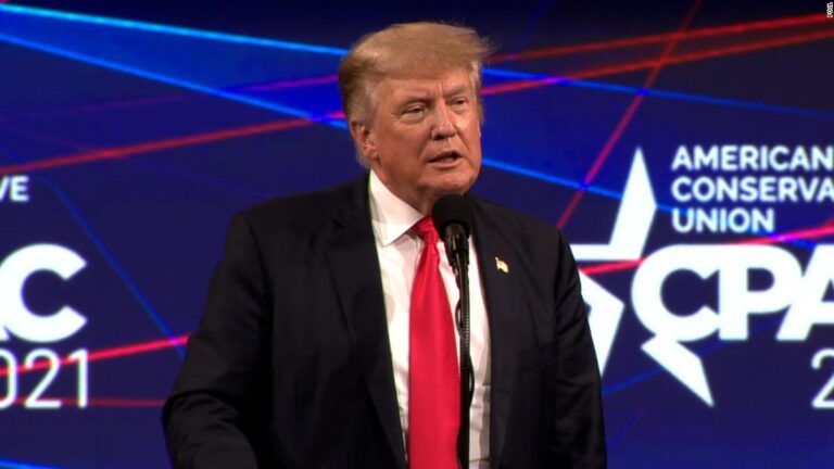 Donald Trump wins the CPAC straw poll as attendees clamor for him to run again