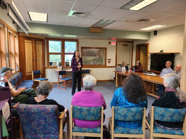 Haines meets borough manager candidate Annette Kreitzer in-person | KHNS Radio