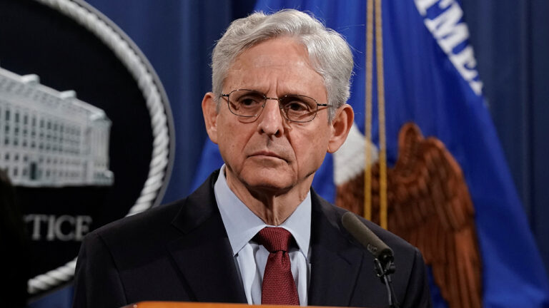 AG Garland violates pledge to remain nonpolitical in fiery statement blasting states' election laws