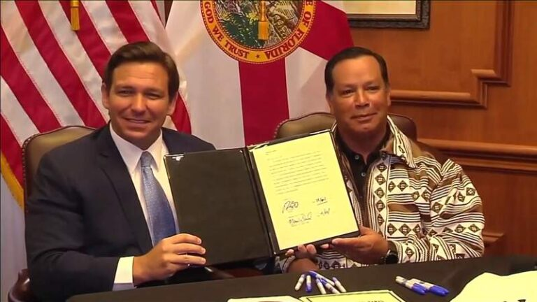 Florida's sports betting plan with Seminole Tribe hit with legal challenge