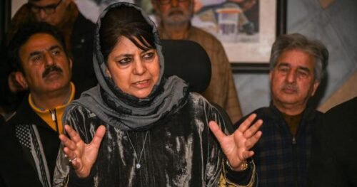 Mehbooba Mufti criticises Centre for dismissing 11 employees from government jobs