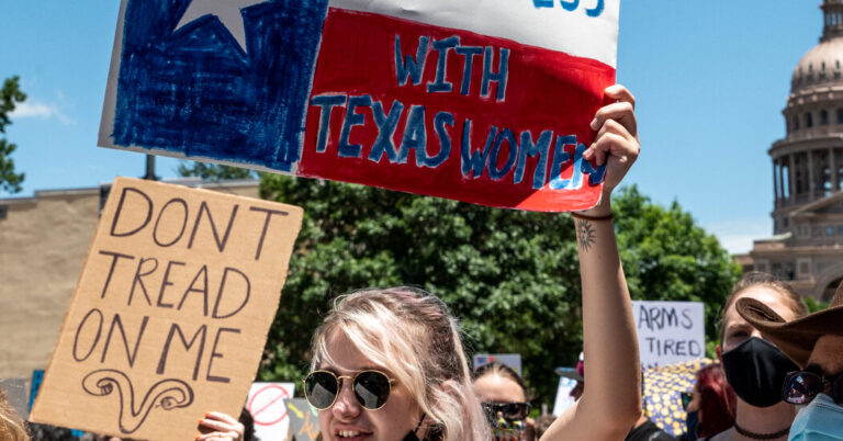 Opinion   Texas's Abortion Law Upends the Legal System