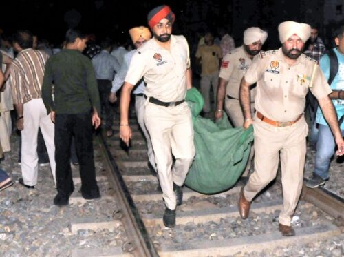 Punjab Govt issues job orders for kin of Dasehra train tragedy victims : The Tribune India