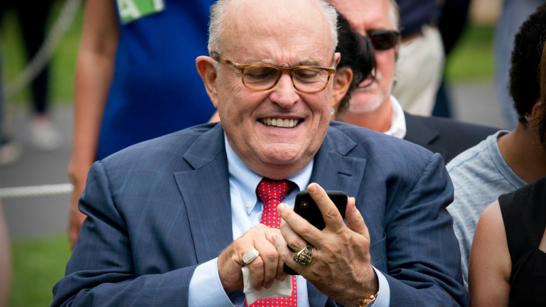 Rudy Giuliani's Legal Defense Fund Has Raised $9,590 (Just $4,990,410 to Go!)