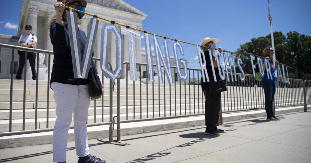 Supreme Court's voting rights ruling casts shadow on future legal battles