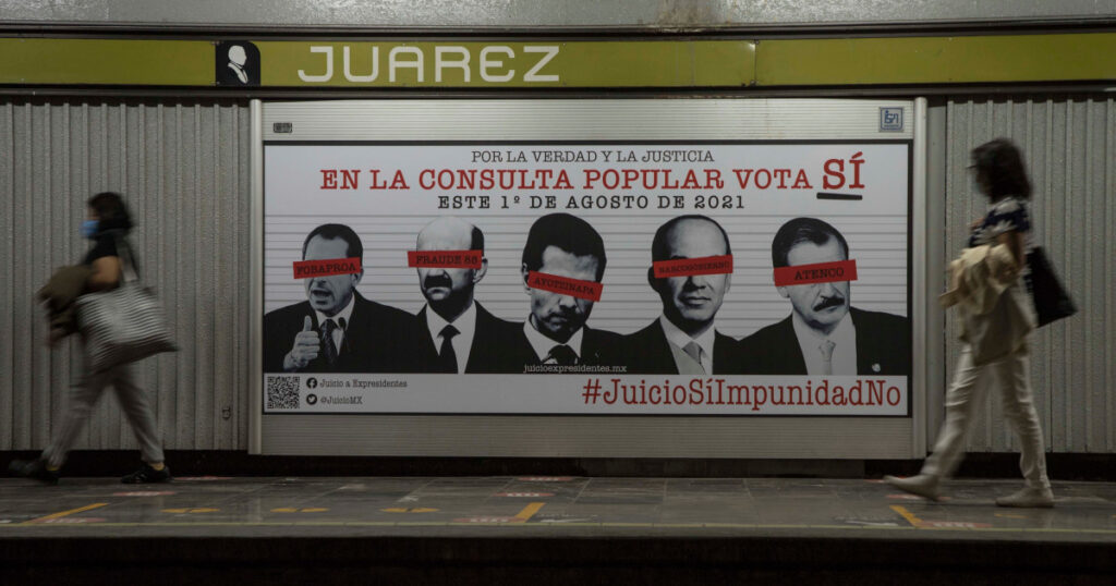 Mexico holds referendum on whether to investigate ex-presidents   Politics News