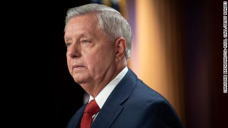 Lindsey Graham tests positive for Covid-19 and has had 'flu-like symptoms' despite being vaccinated