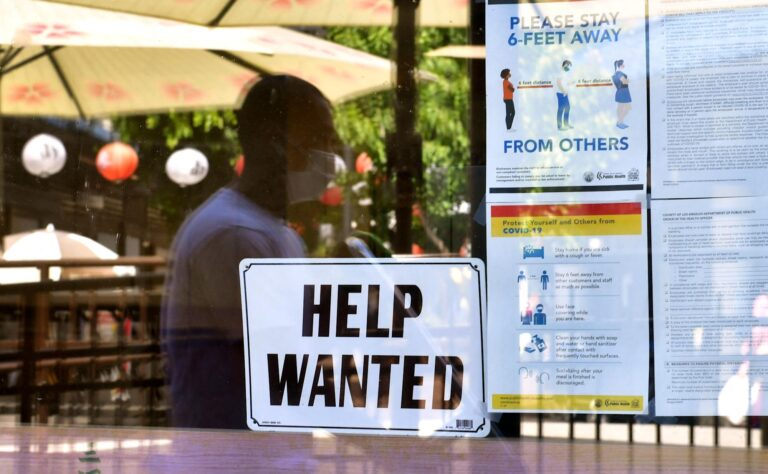 Economy adds back 943,000 payrolls, unemployment rate falls to 5.4%