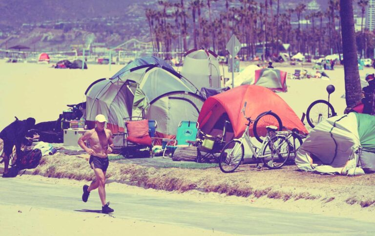 The Tents of Venice Beach