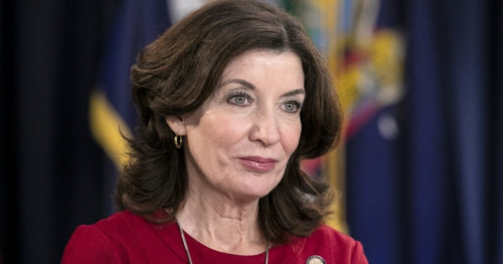 With Cuomo out, Kathy Hochul will become New York's first female governor