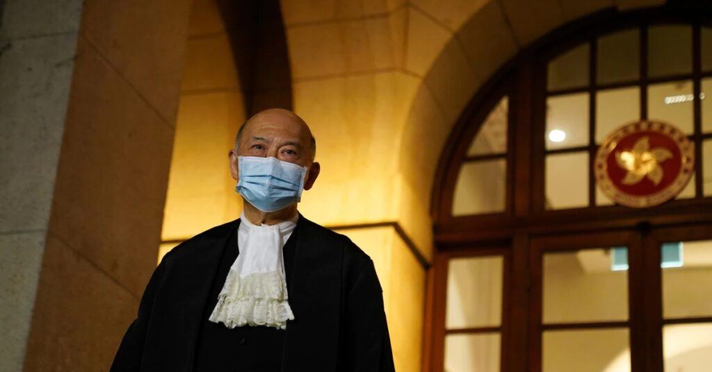 EXCLUSIVE Hong Kong's former chief judge says upholding rule of law not political