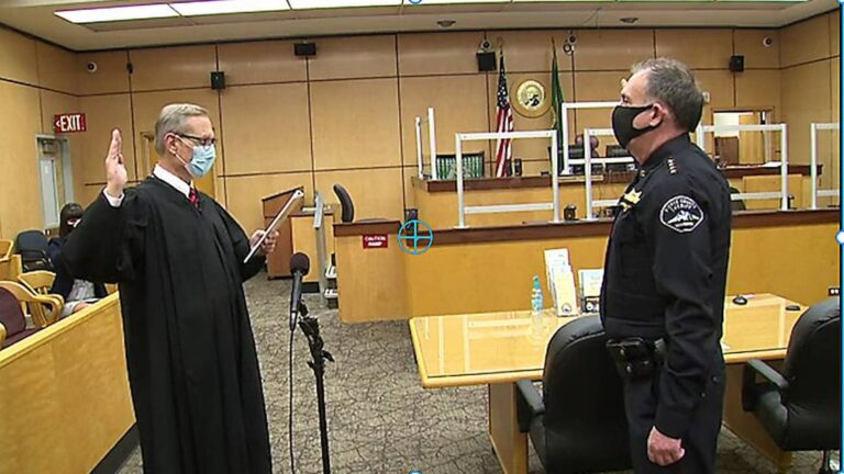 Sheriff's request for legal counsel denied by Pierce County