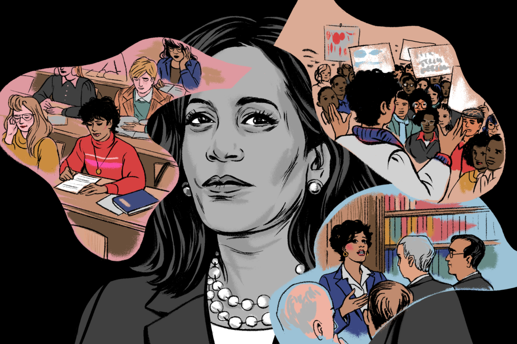What Kamala Harris' Law School Years Reveal About Her Politics