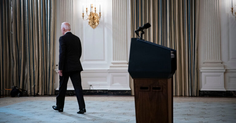 Biden Tests Limits of Presidential Power in Pushing Vaccinations