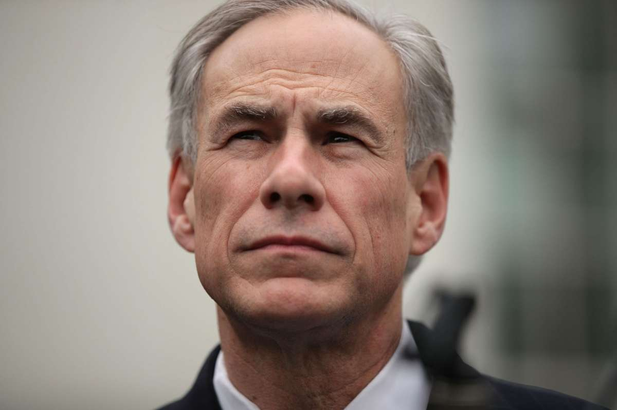 WASHINGTON, DC - MARCH 24: Texas Governor Greg Abbott participates in a news briefing outside the West Wing after an Oval Office announcement with President Trump March 24, 2017 at the White House in Washington, DC. Charter Communications announced that the company is opening a call center in McAllen, Texas, creating 600 jobs. (Photo by Alex Wong/Getty Images)
